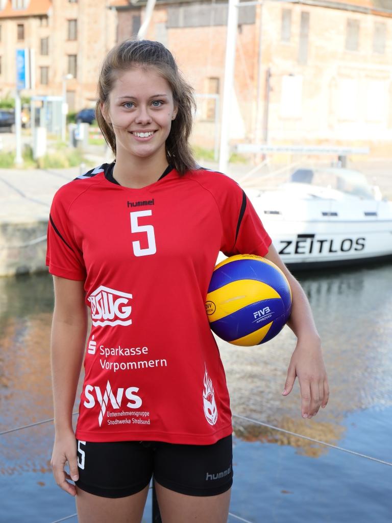 Svenja Enning wurde im Duell gegen die Skurios Volleys Borken zur besten Spielerin gewählt