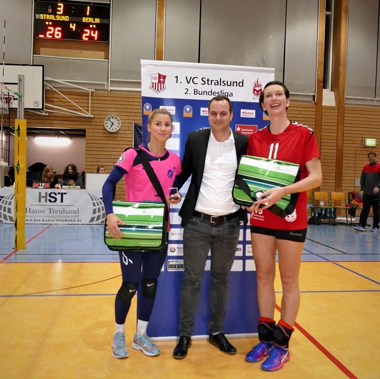 Siebtes Heimspiel, siebter Sieg – 1. VC Stralsund gewinnt 3:1